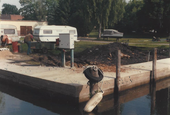 Sanierte Uferpromenade 1987