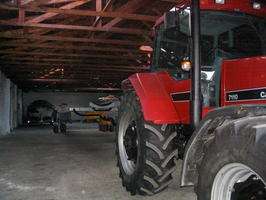 Unser neuer Roodberg Hydraulikhubwagen angekoppelt und eisatzbereit 2002