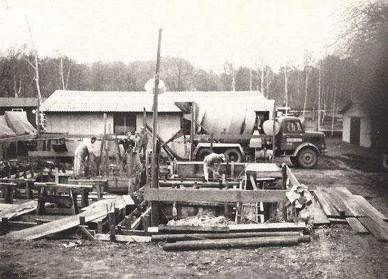 1968- Baustelle neues Wohnhaus am Pichelssee