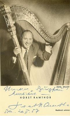 Gute Freunde - Musiker Horst Ramthor 1958
