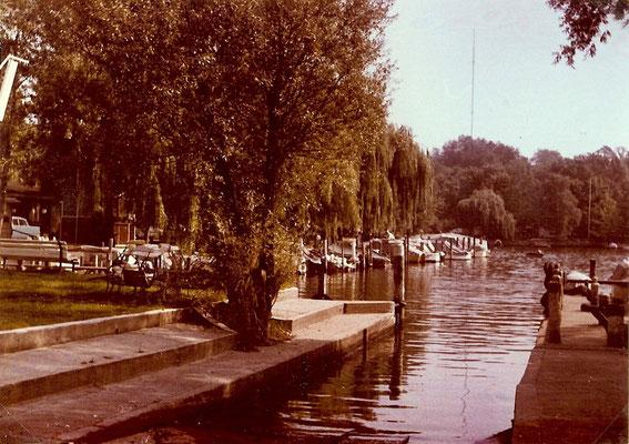 Blick auf den Hafen am Pichelssee 1964