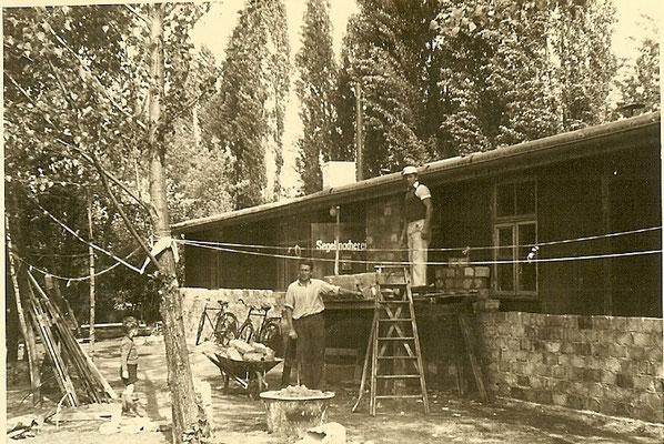 Die Segelmacherei 1951