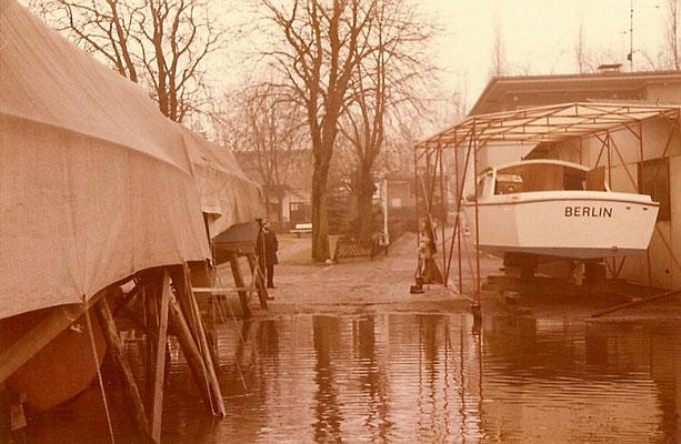 Hochwasser am 22. Dezember 1974