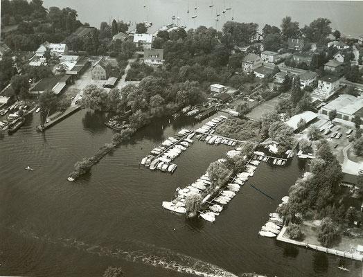 Luftbild Pichelssee 1963