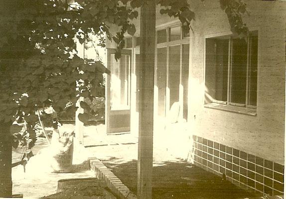 Die neue Kantine ist fertiggestellt 1952