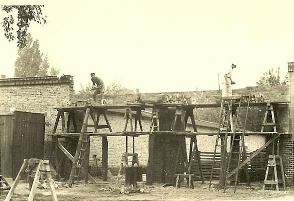 Bau Halle 3 - 1954