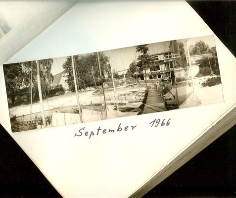 Blick auf das Gelände an der Scharfen Lanke im September 1966