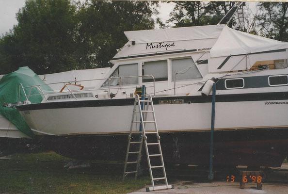 Aufslip am Pichelssee 1998