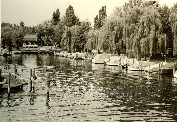 Unsere Bootsstände am Pichelssee 1962
