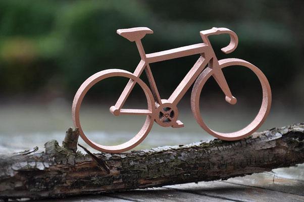 """Fotografie von einem Fahrrad zur Dekoration. Funkenflug Design aus Münster für """"Münster Souvenirs""""."""