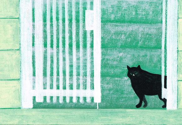 黒猫 / sold