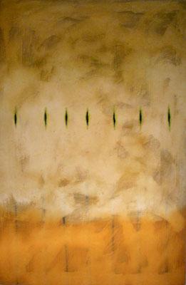 Insolenne, 1999 olio e pigmenti su tela cm 150x100