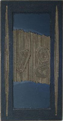 Nero, 2000 cartone, legno, ardesia, limatura di ferro cm 94x50