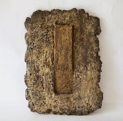 Fango e ghiaccio, 2014 terracotta, cera cm 33x25