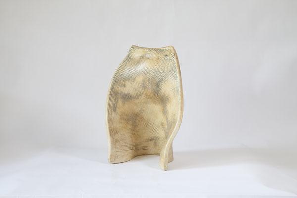 Proteggi, 1999 caolino, ossidi cm 17x19x14