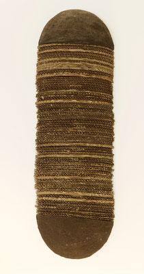 Senza titolo, 2000 terracotta, limatura di ferro, cartone