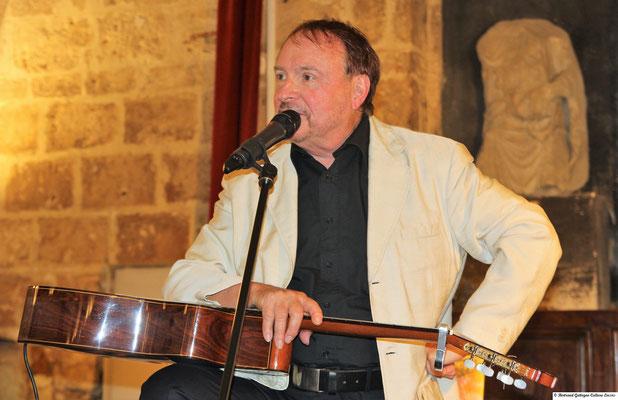 Jean-Marie Quiesse - Terres lointaines- Montpellier, salle Pétrarque,  7 juin 2018 - Photo B. Gattegno - bertrand.gattegno35@gmail.com