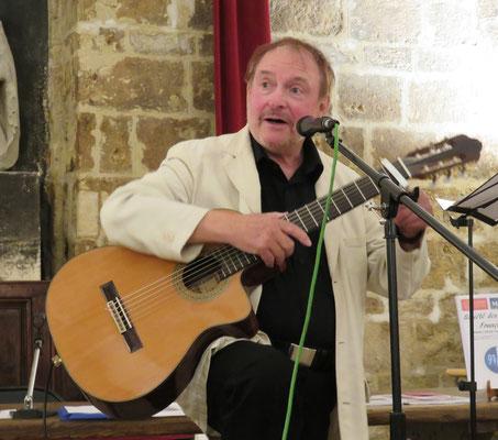 Jean Marie Quiesse - Montpellier - Société des poètes - 11 mai 2017- Photo D. Ferré