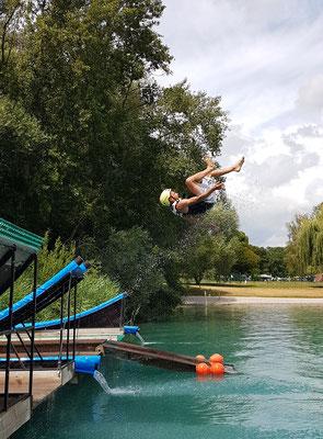 Water Jumping Elsass