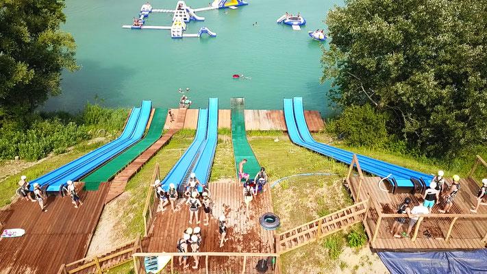 Wasserjump Total Jump