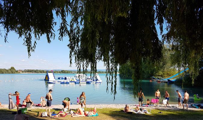 Sommer Aktivitäten Frankreich