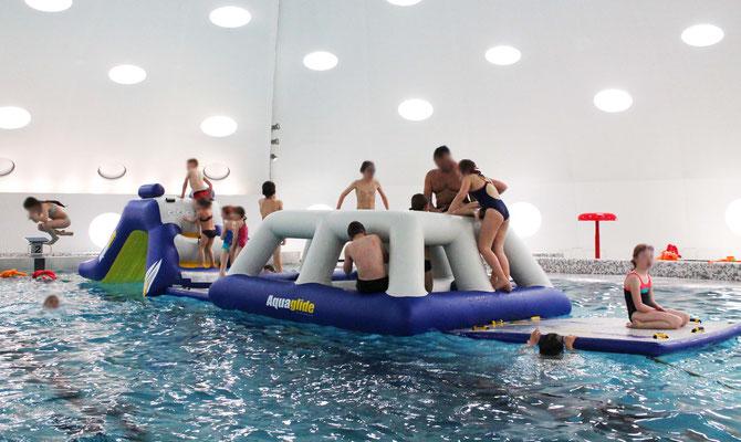 Ausrüstungsverleih Idee Schwimmbad