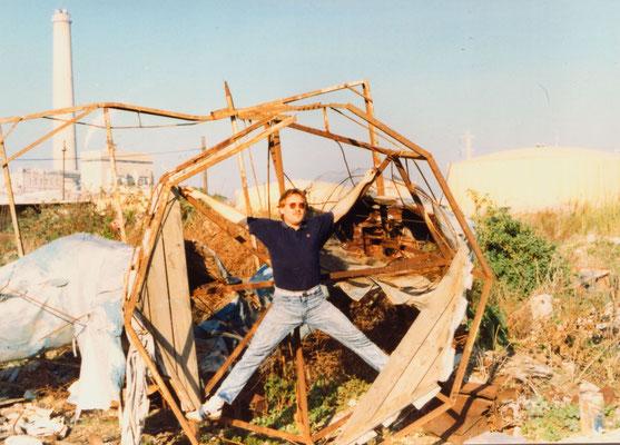 Near Tel Aviv, Israel, 1989.