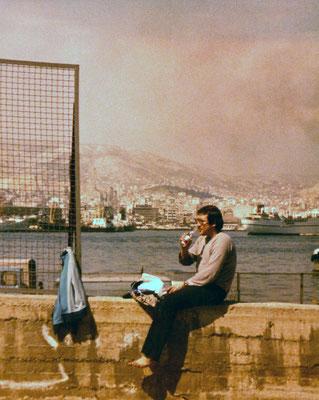 In Greece, 1980.