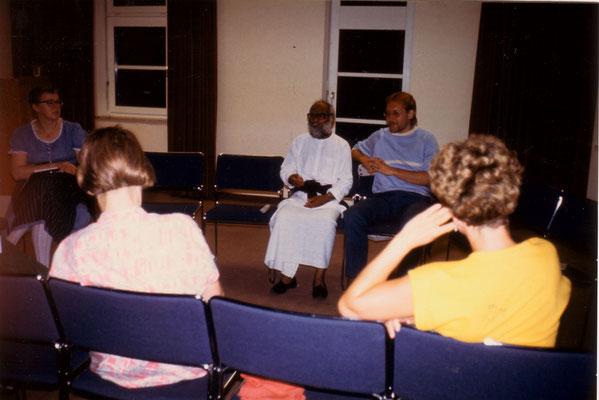 Programme with S.V. Govindan in Berlin, 1986.