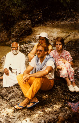 During a trip with S.V. Govindan in Austria, 1986.