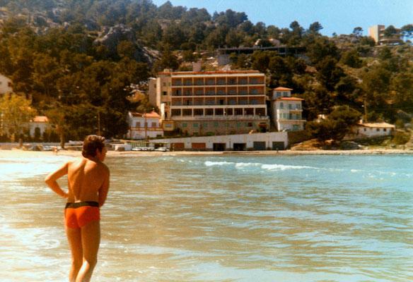 On Mallorca, 1971.