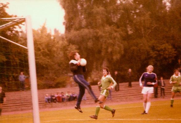 In a match for VfB Neukölln, 1979.