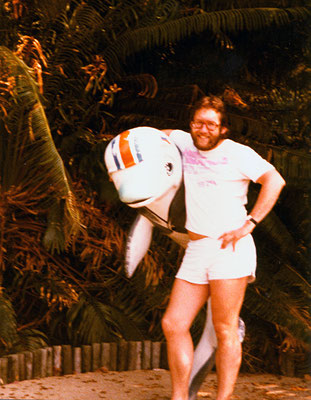 In Florida, 1981.