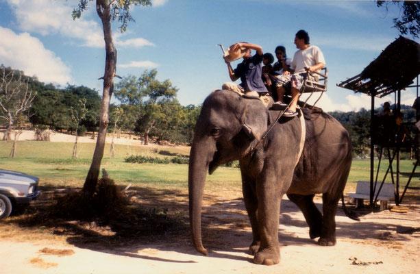 With fiancee Susanne in Thailand, 1993.