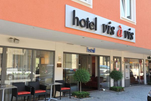Bienvenido al hotel Vis à Vis***