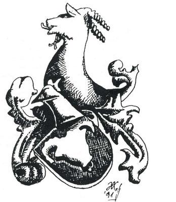 Das uns geläufige Wiedersteiner Wappen