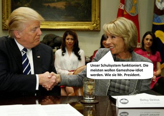 Donald Trump, Gameshow-Idiot