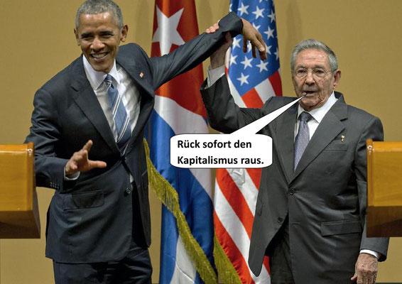 Barak Obama, Raul Castro