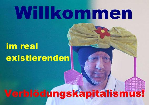 Boris Becker - Willkommen im real existierenden Verblödungskapitalismus.