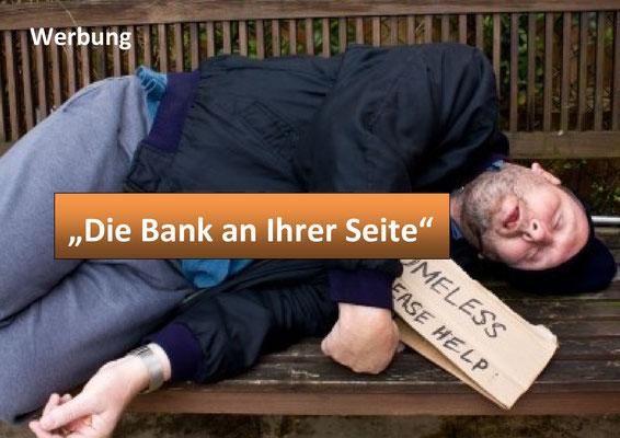 Commerzbank, Werbung. Die Bank an ihrer Seite.