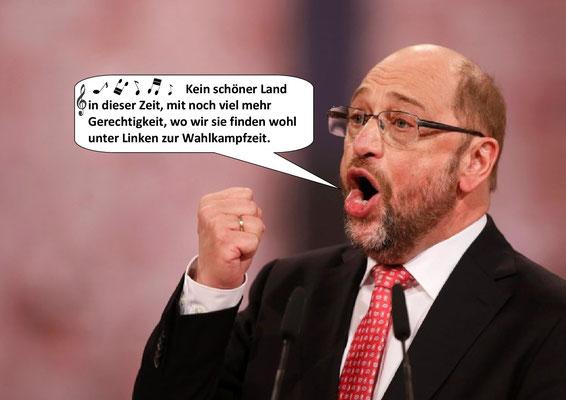 Martin Schulz - Bundestagswahlkampf 2017. 1. Akt