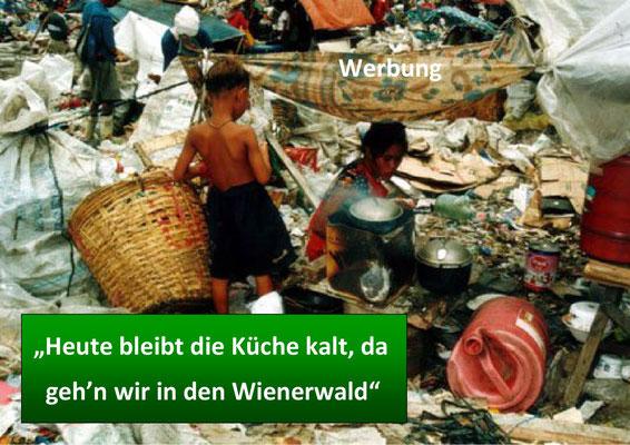Wienerwald, Werbung. Heute bleibt die Küche kalt, da geh'n wir in den Wienerwald.