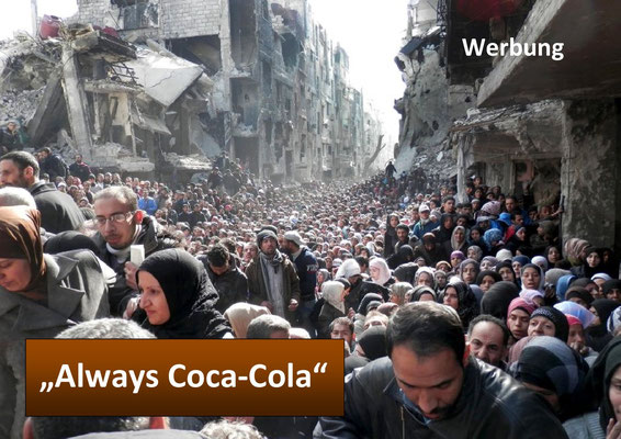 Coca Cola, Werbung. Always Coca-Cola
