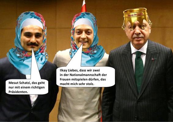 Gündogan, Özil, Erdogan