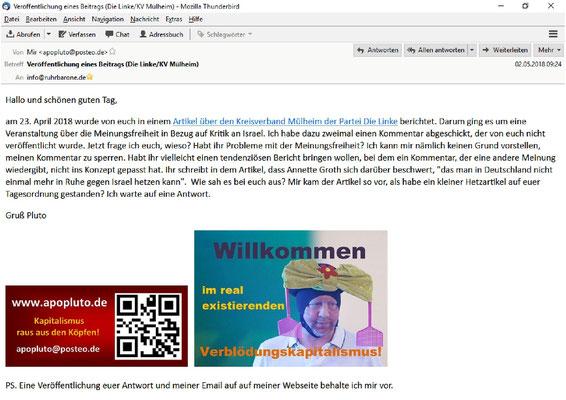 Email an ruhrbarone.de