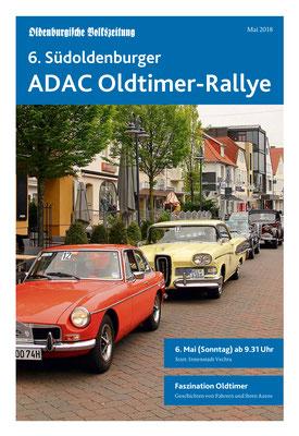 Sonderbeilage der Oldenburgischen Volkszeitung zur Oldtimerrallye Vechta 2018