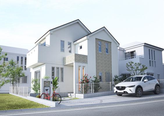 戸建て 住宅パース