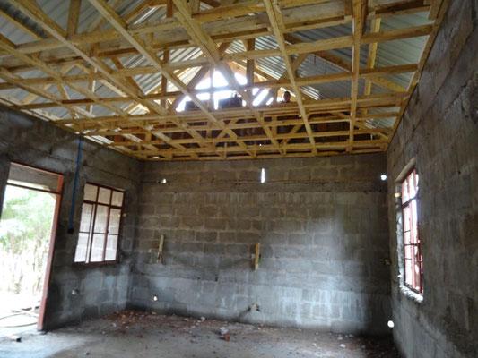 Innenraumansicht des neuen Boy-Dormitory.