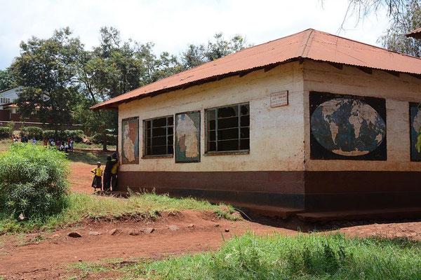 Die Grundschule von Kishumundu.