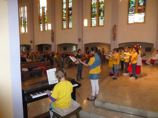 Fronleichnam 2014 Niels-Stensen Grundschule Hameln